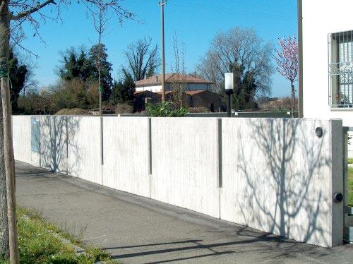 Muretti giardino cool sono lavorazioni particolari come l for Recinzioni in muratura per ville